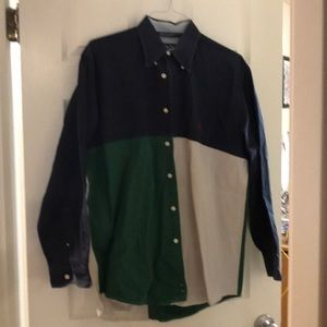 Nautica men's button down shirt